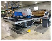 """33 Ton, Euromac #MBX-6-1250/30/2250, turret punch, 6 station, 50"""" throat, 2015"""