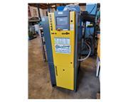 42 cfm, 125 psig, Kaeser #Air-Center-SM-10, rotary screw air compressor w/ dryer, 10 HP, 7