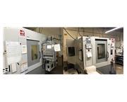 """32"""" X Axis 20"""" Y Axis Haas EC-500 HORZ MACHINING CENTER, Haas 4-Axis Control, TS"""