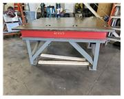 STEEL TABLE WITH BALL ROLLERS