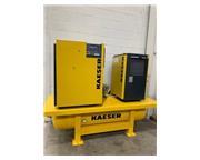 KAESER SK 26 AirCenter, 92 CFM, 110 PSI, 20 HP, 100 Gal. Tank, TB 26 Dryer,
