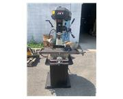 """32"""" Table 2HP Spindle Jet JMD-18 VERTICAL MILL, Step-Pulley, R-8, 2 HP, 1 Phase,"""