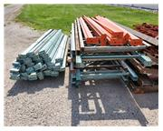 LOT OF ASSORTED PALLET RACKING