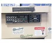 10 gauge x 6' Cincinnati #135HSx6, hydraulic heavy duty power shear, 8 holddowns, 60-85 SP