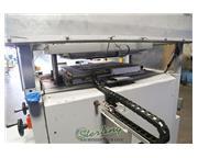 "50 Ton, Contech #UP2028, hydraulic flat bed clicker press, 4"" stroke, 20"" x 28&q"