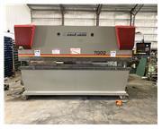 130 ton x 12' Accurpress CNC Press Brake, Hurco AB7 Control