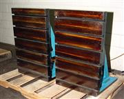 """36"""" Height 18"""" Width Jash (2) Cast Iron T-Slotted ANGLE PLATES, 36""""H x 18&q"""
