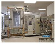 Parker Ionics Powder Coat Paint Booth with Nordson Automatic Spray Guns