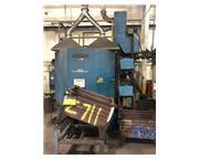 """60"""" Wheelabrator #WMT-60, (2) 15HP EZ FIT blast wheels, manuals, spare parts, MI 2006"""