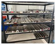 """Press brake tooling drops in stock, various lengths & sizes, 12"""" - 6' in length, #108"""