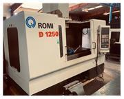 2007 ROMI Model D-1250 VMC Fanuc 21iM-B Control (Manual Guide i)