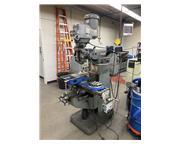 """9"""" x 42"""" Bridgeport Vertical Mill, DRO, Power feed, Kurt Vise..."""
