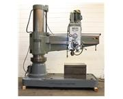 """5' Arm Lth 16"""" Col Dia Ooya RE3-1600 RADIAL DRILL, Power Elevation  Clamping, 5MT,10"""