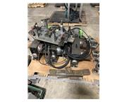 """6"""" Haas #HRT-160-2 Sigma, 1 HP, double 6"""" rotary 4th axis CNC prog rotary table,"""
