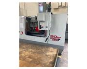 """Haas #VF-3, vertical machining center complete w/10"""" Haas 4-Axis rotary table, in pla"""