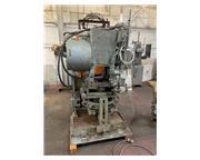 18 Ton, Tishken #COT-6, tilt type cut-off, 2 stroke, 3 HP, 1200 RPM, 5-Axis adjustable bas
