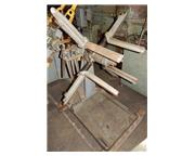 """1000 lb. Littell #10, manual uncoiler, 13"""" width, 48"""" outside dimensions, 12&quo"""